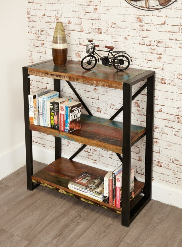 Baumhaus Urban Chic Reclaimed Wood Low Bookcase