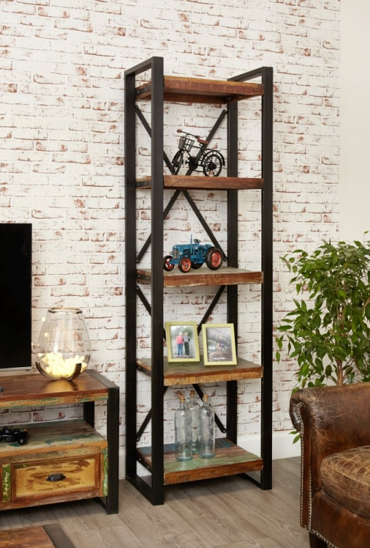 Baumhaus Urban Chic Reclaimed Wood Alcove Bookcase