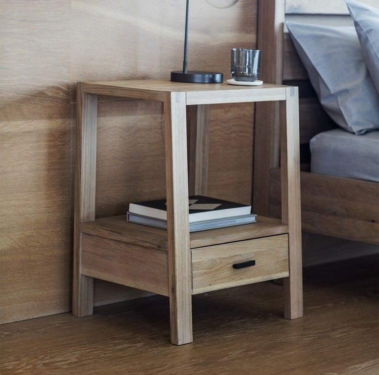 Gallery Direct Kielder Oak Bedside Table
