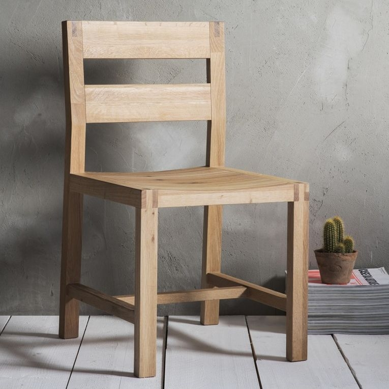 Gallery Direct Kielder Oak Dining Chair (Pair)