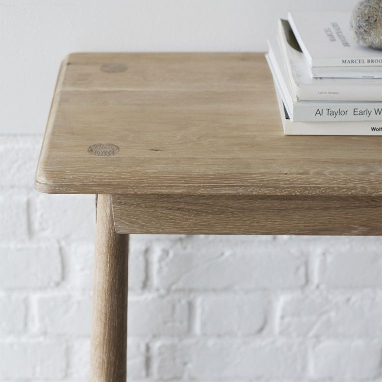 Hudson Living Wycombe Oak Console Table