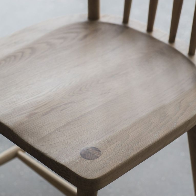 Frank Hudson Wycombe Oak Dining Chair (Pair)