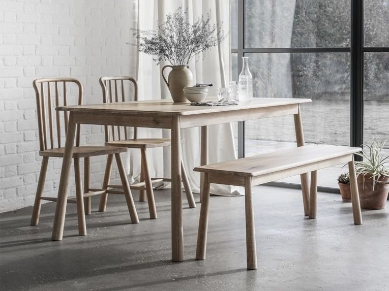 Hudson Living Wycombe Oak Dining Table