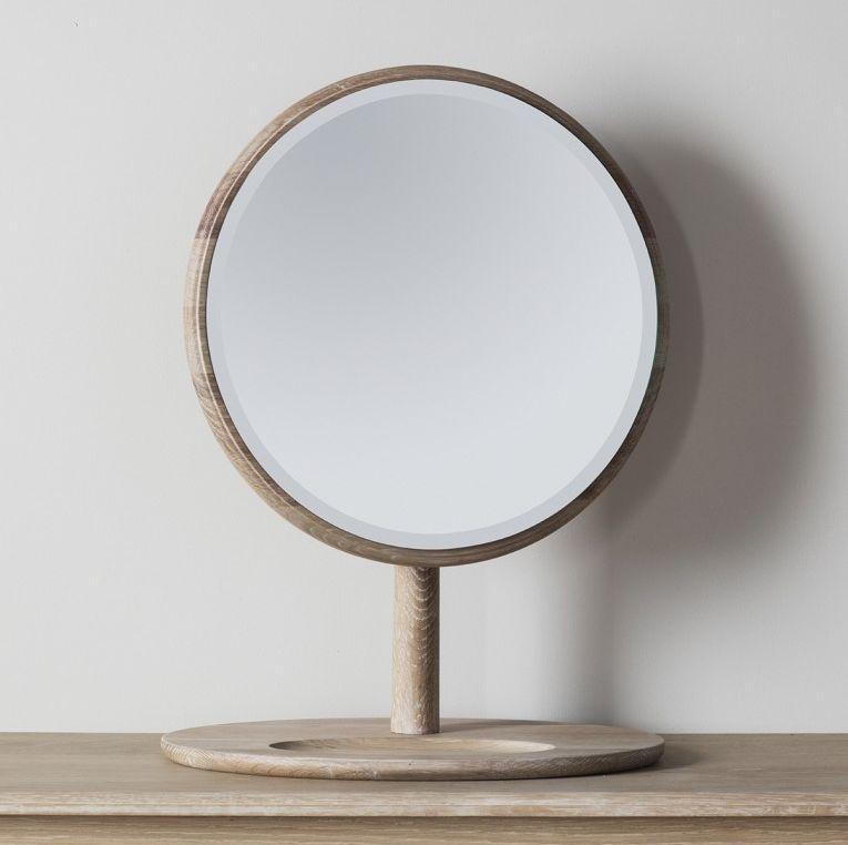 Gallery Direct Wycombe Oak Dressing Mirror