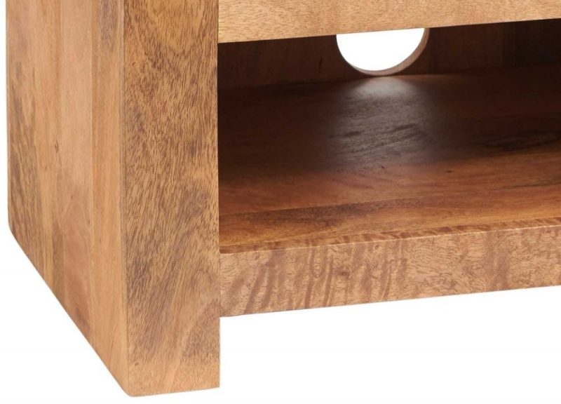 Indian Hub Toko Light Mango Hi-Fi Cabinet