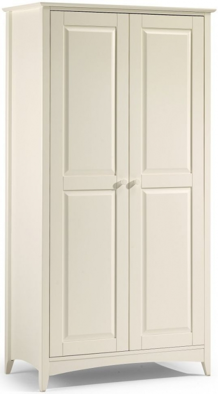 Julian Bowen Cameo Off White Wardrobe - 2 Doors