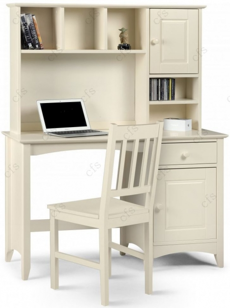 Julian Bowen Cameo Off White Desk 1 Door 1 Drawer  : 4Julian Bowen Cameo Off White Desk 1 Door 1 Drawer 01 from choicefurnituresuperstore.co.uk size 468 x 625 jpeg 128kB