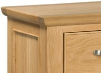 Devonshire Siena Oak Side Table - 1 Drawer