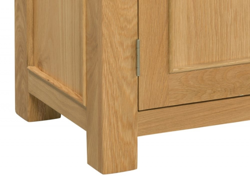 Devonshire Siena Oak 2 Door Wardrobe