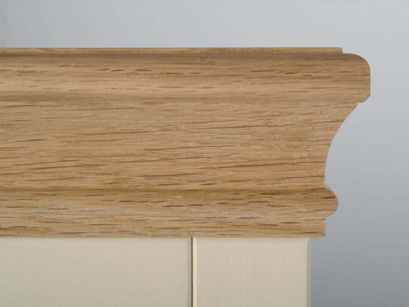 Devonshire Lundy Ivory Painted Narrow Sideboard