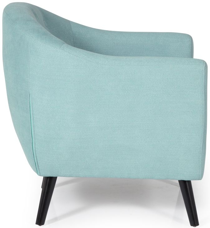 Serene Evie Duck Egg Fabric Chair