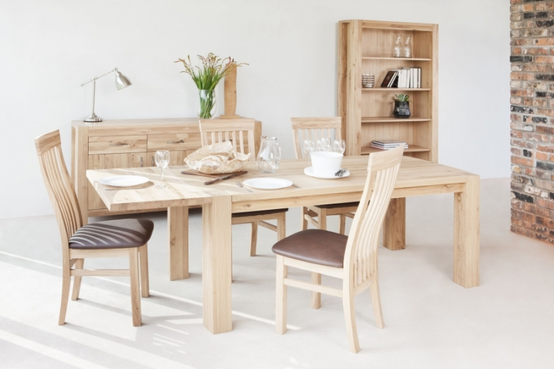 Qualita Goliath Oak Dining Table - 220cm Extending