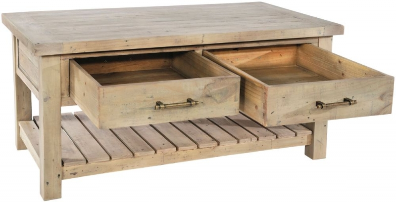 Rowico Saltash 2 Drawer Coffee Table