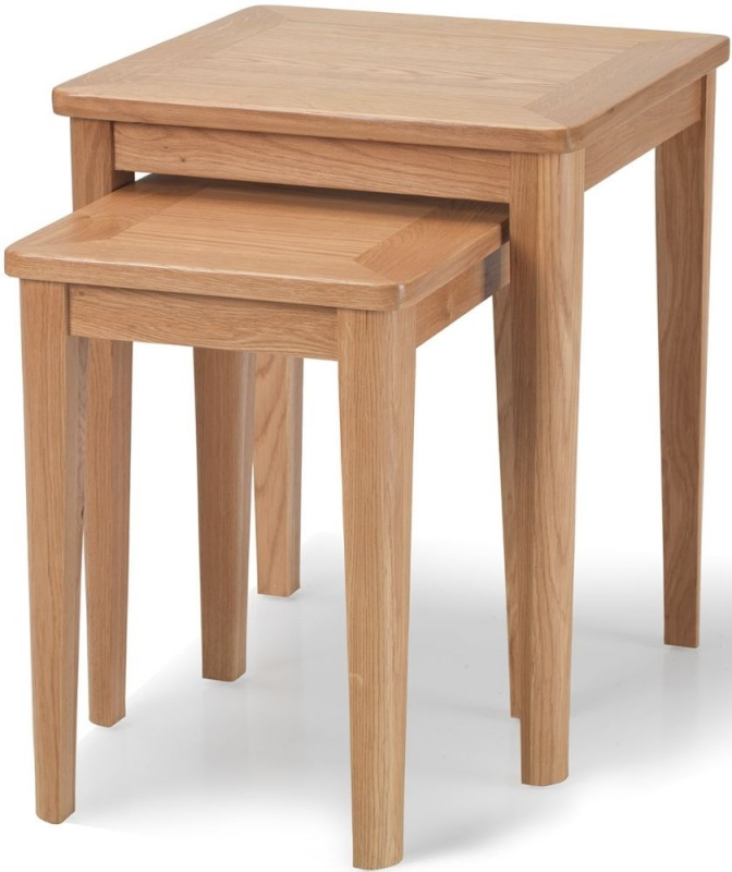 Asby Oak Nest of Table (Set of 2)