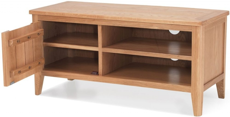 Asby Oak Small TV Unit