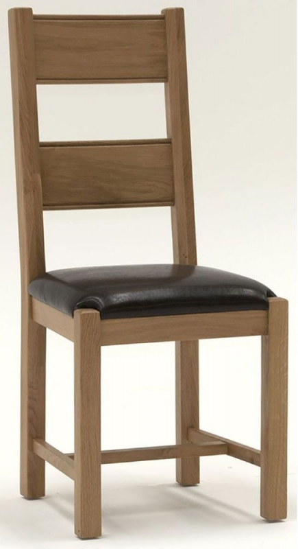Vida Living Breeze Oak Dining Chair (Pair)