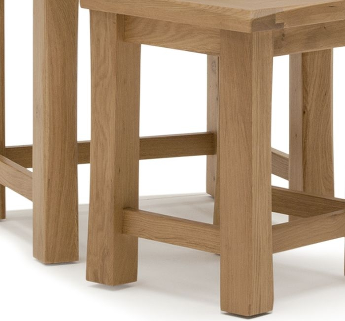 Vida Living Breeze Oak Nest of Tables