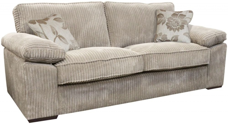 Buoyant Dexter 3 Seater Fabric Sofa Bed