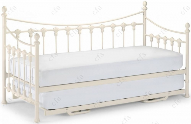 Julian Bowen Versailles White Underbed Trundle