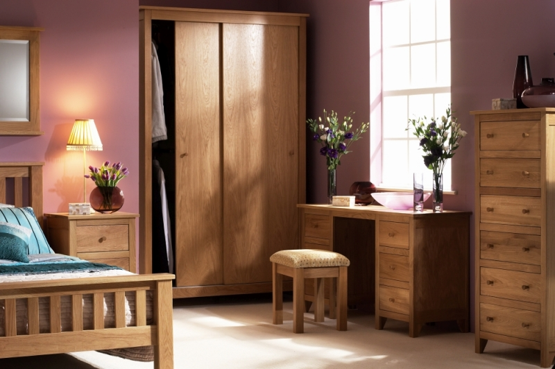 Corndell Nimbus Oak Double Wardrobe