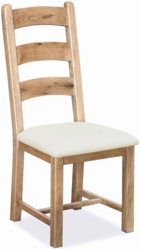 Corndell Fairford Oak Ladder Dining Chair (Pair)