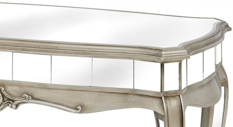 Hill Interiors Argente Mirrored Coffee Table