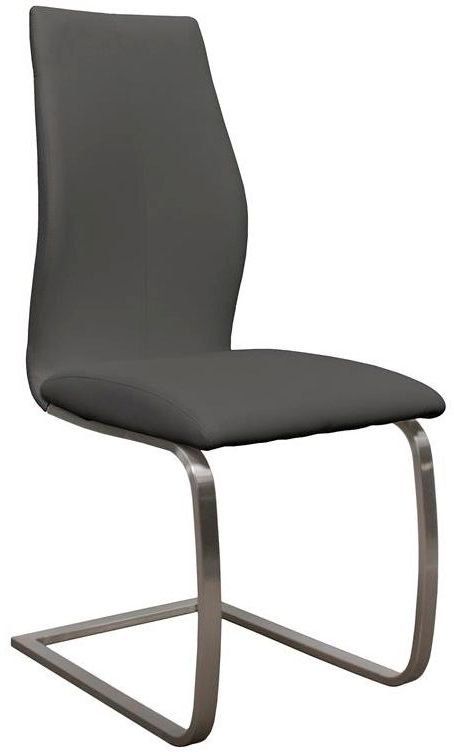 Vida Living Irma Grey Dining Chair (Pair)