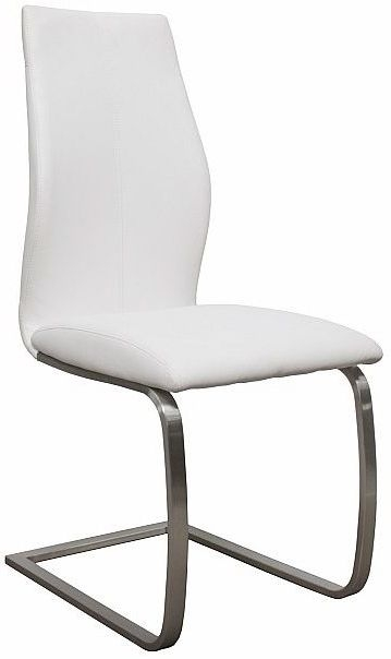 Vida Living Irma White Dining Chair (Pair)