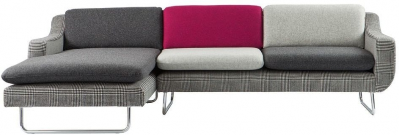 Content by Terence Conran Aspen 2 Seater with 1 Arm Fabric Sofa