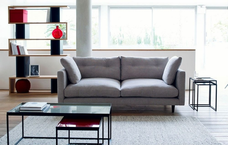 Content by Terence Conran Salone 2 Seater Fabric Sofa
