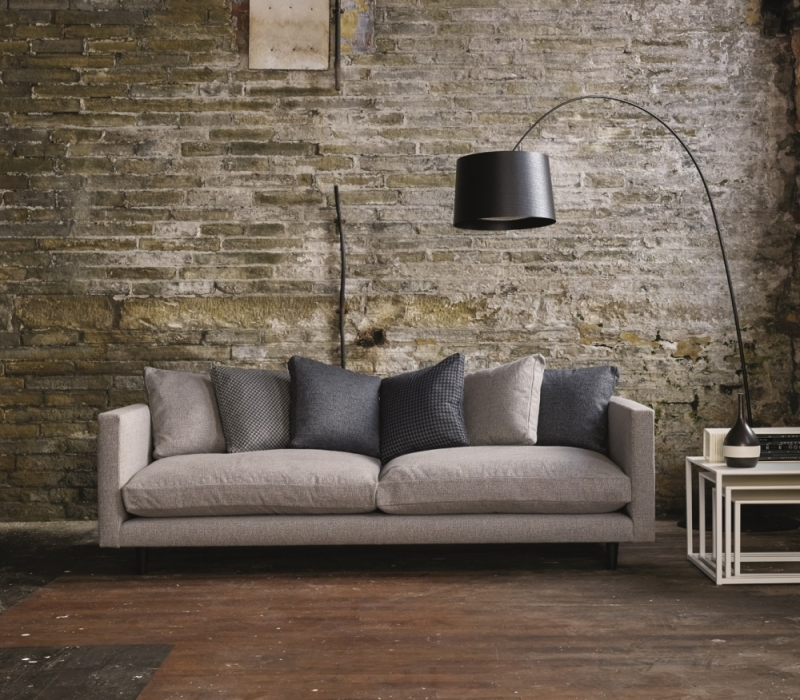 Content by Terence Conran Studio 3 Seater Fabric Sofa
