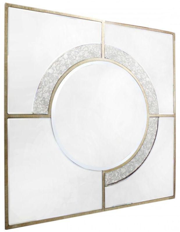 Angelo Square Wall Mirror - 90cm x 90cm