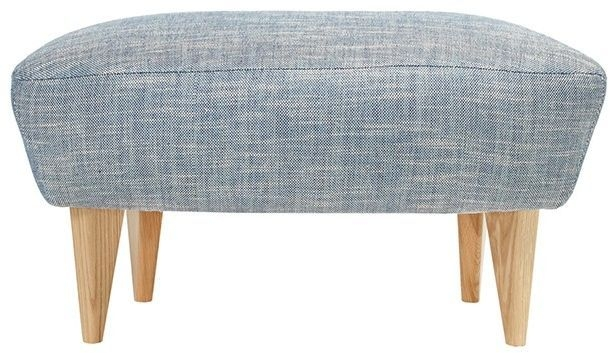 Content by Terence Conran Matador Fabric Footstool
