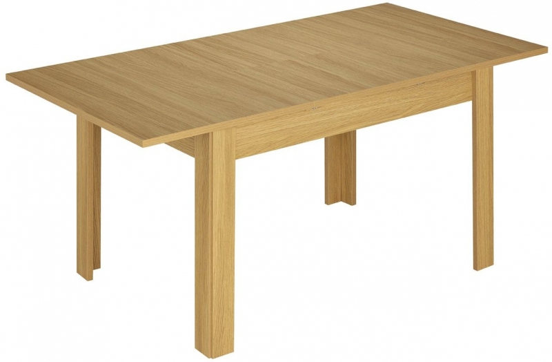 Kingstown Dalby Oak Dining Table - Small Extending