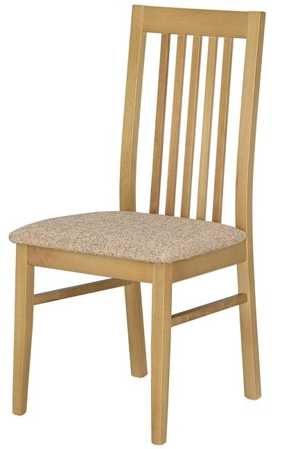 Kingstown Dalby Oak Wooden Chair (Pair)