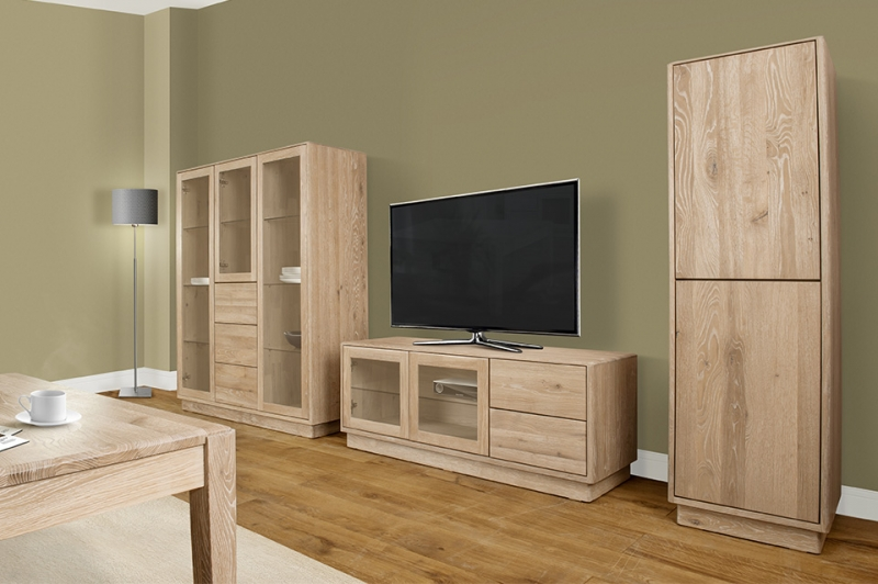 Clemence Richard Portofino Oak TV Stand