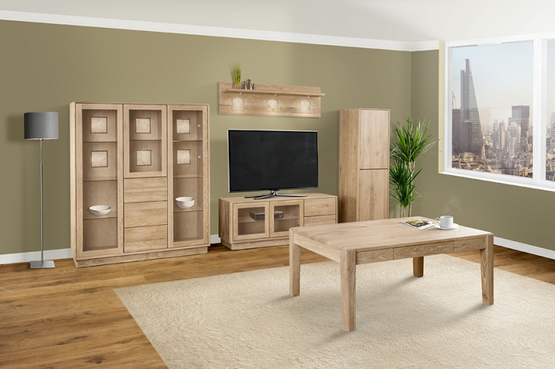 Clemence Richard Portofino Oak Highboard