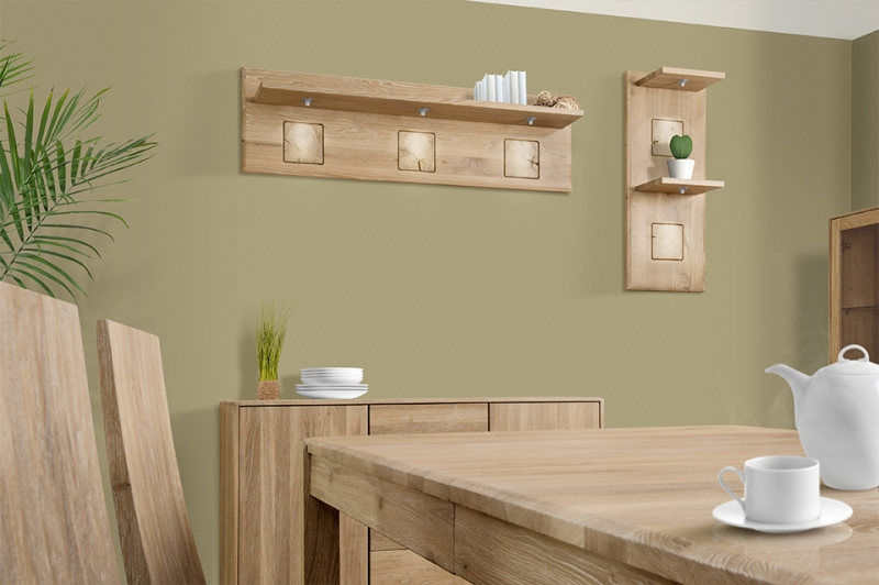 Clemence Richard Portofino Oak Wide Shelf