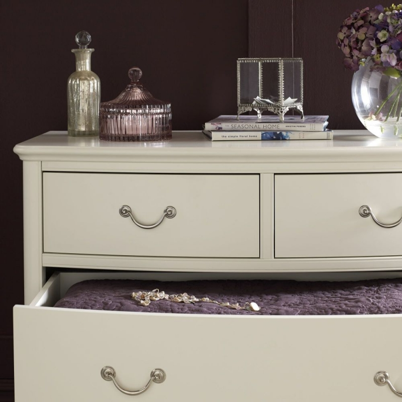 Bentley Designs Bordeaux Ivory Chest of Drawer - 2+2 Drawer