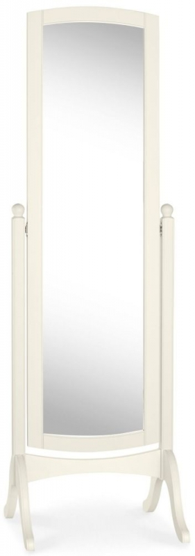 Bentley Designs Bordeaux Ivory Cheval Mirror