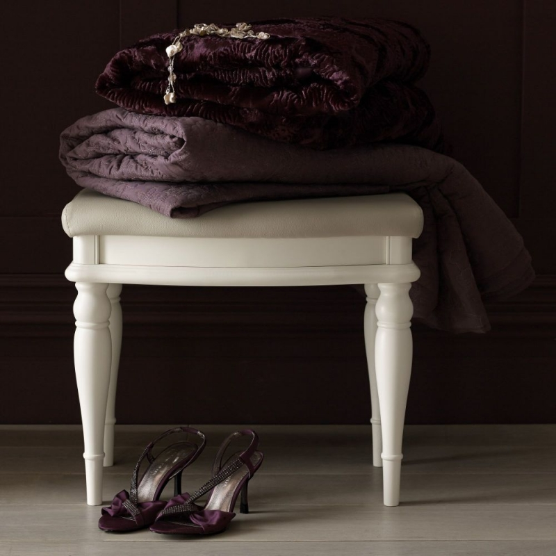 Bentley Designs Bordeaux Ivory Stool