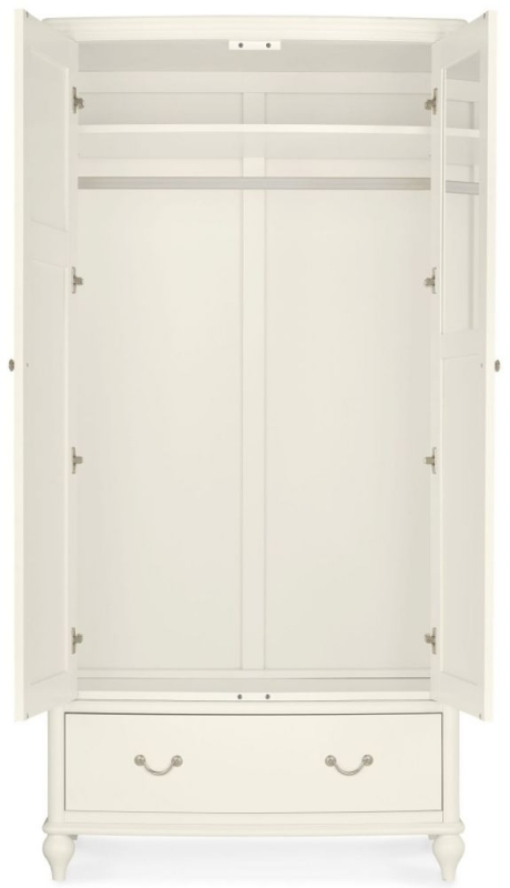 Bentley Designs Bordeaux Ivory Wardrobe - Double