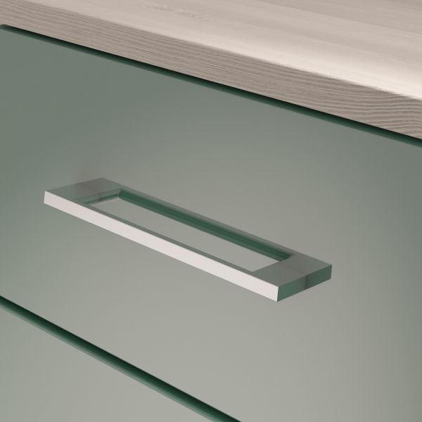 Corsica Lagoon Chest of Drawer - 3 Drawer Narrow