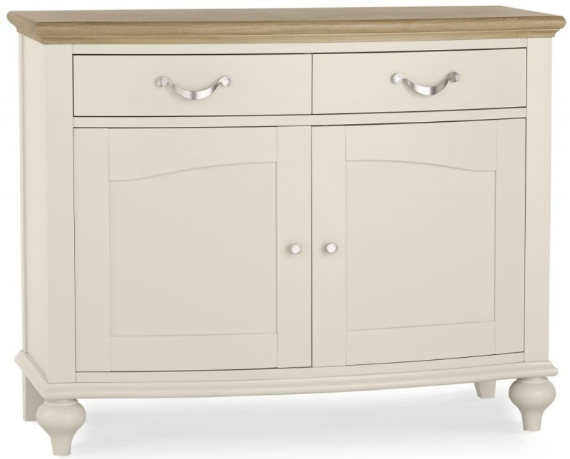 Bentley Designs Montreux Pale Oak and Antique White Sideboard - Narrow