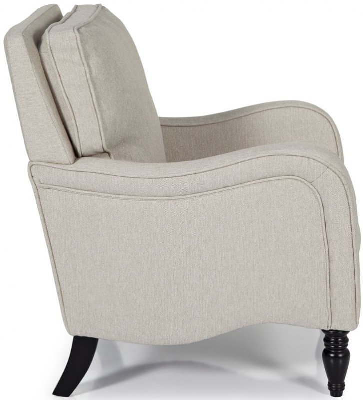 Serene Dundee Latte Fabric Chair