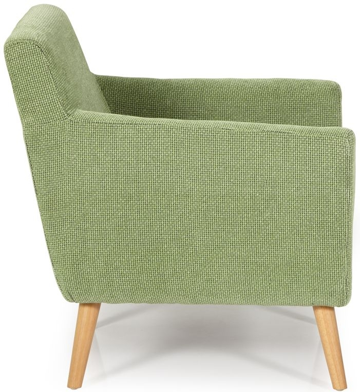 Serene Kelso Green Fabric Chair
