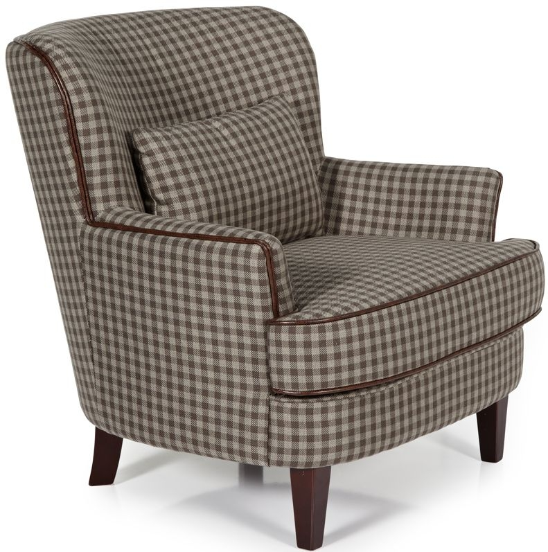 Serene Moffat Brown Fabric Chair