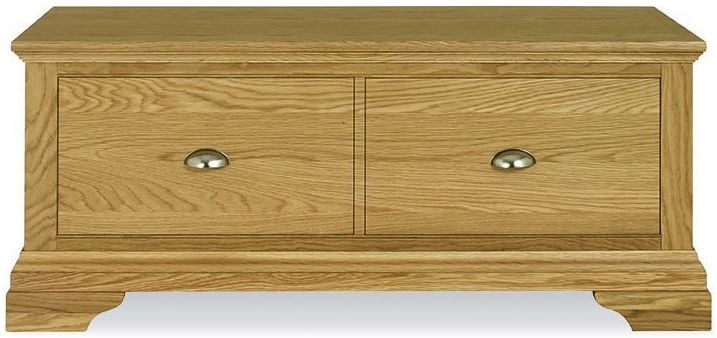 Bentley Designs Hampstead Oak Blanket Box