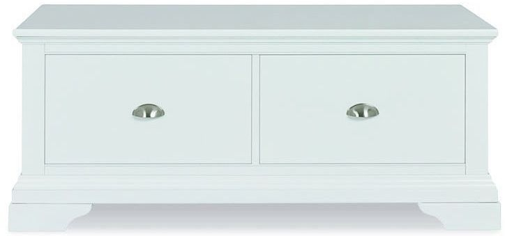 Bentley Designs Hampstead White Blanket Box