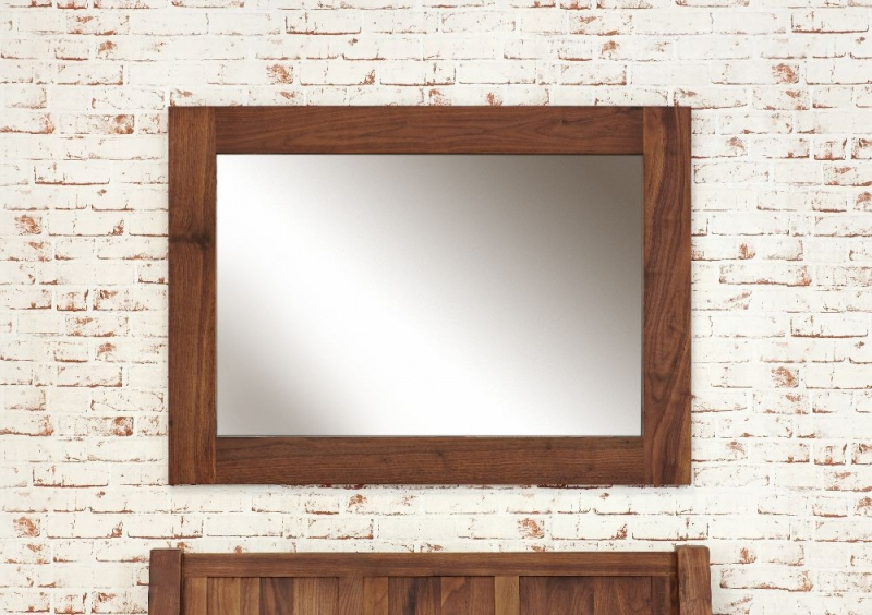 Baumhaus Mayan Walnut Mirror - Medium
